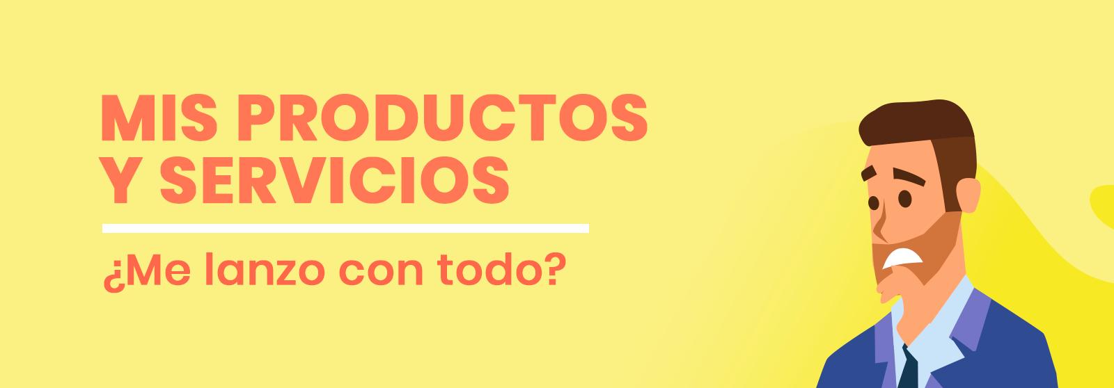 E-commerce servicios y productos
