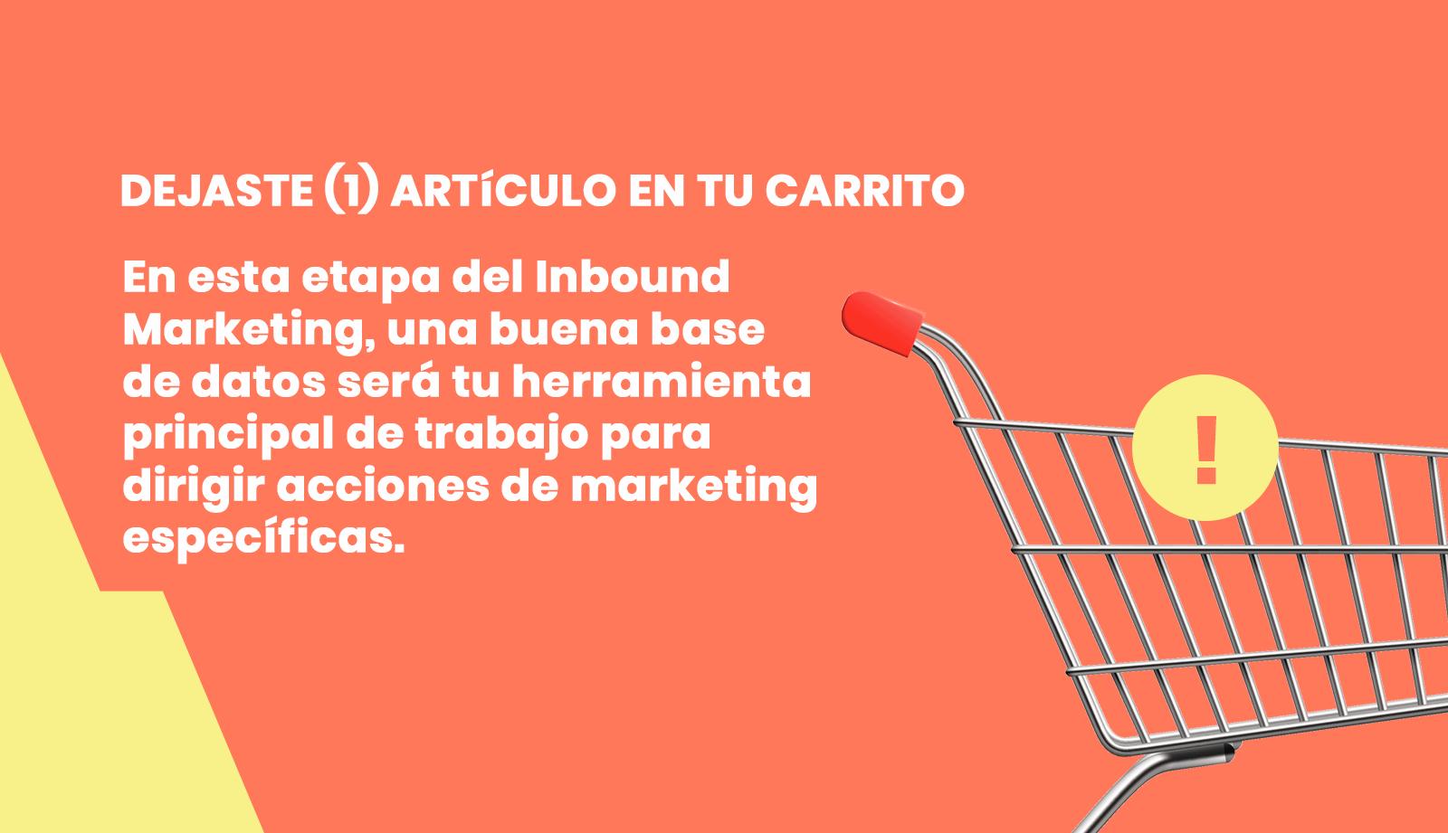 Inbound Marketing etapa de venta