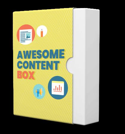 Awesome Content Box para crear contenido extraordinario